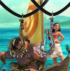 Моана кулон волшебный крюк Мауи