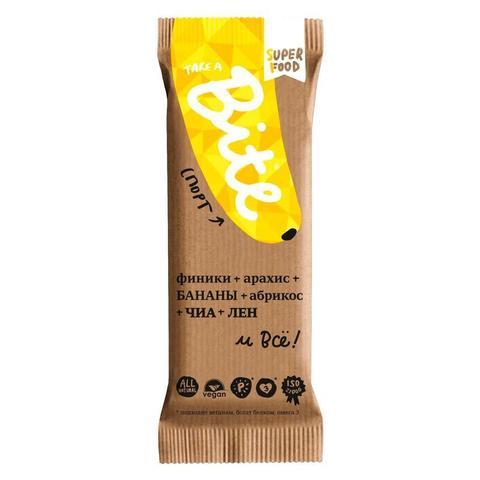 Bite батончик «Спорт» Арахис-банан  45г