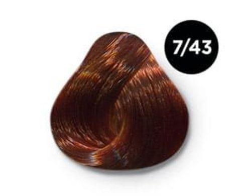 Ollin Silk Touch Безаммиачный стойкий краситель 7/43, 60 мл