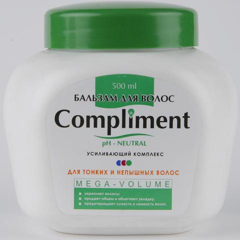Compliment Бальзам для волос MEGA-VOLUME для тонких и непышных волос