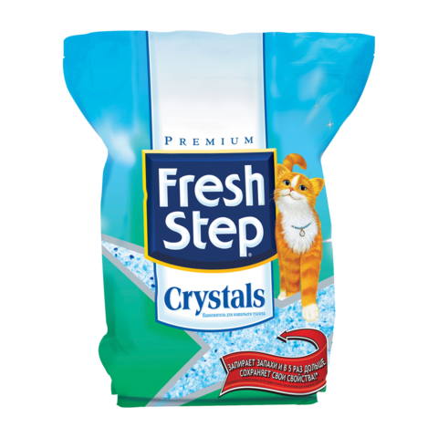 Fresh Step Crystals Наполнитель для туалета кошек силикагелевый