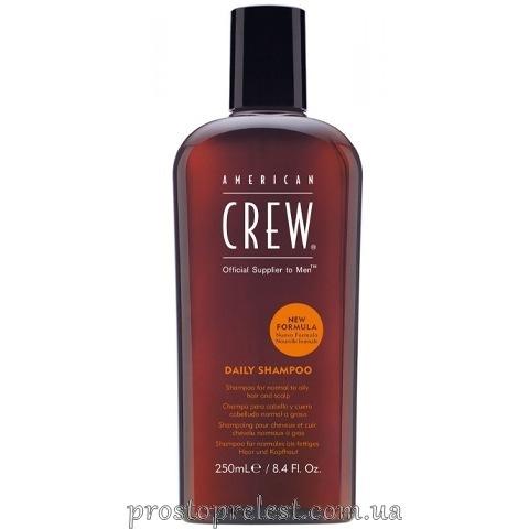 American Crew Daily Shampoo - Шампунь для ежедневного использования 250