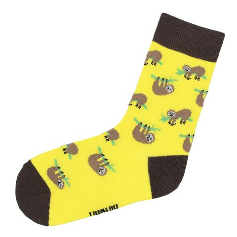 Носки с ленивцами