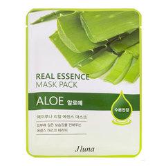 Juno Real Essence Mask Pack - Маска тканевая с алоэ