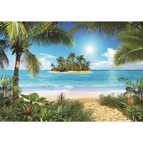 Тропический пляж 291x204 см, люкс