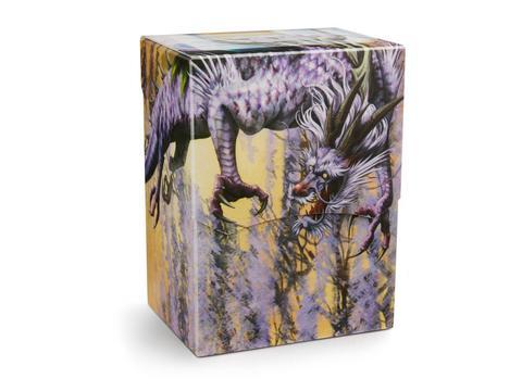 Пластиковая коробочка Dragon Shield - Lilac Pashalia