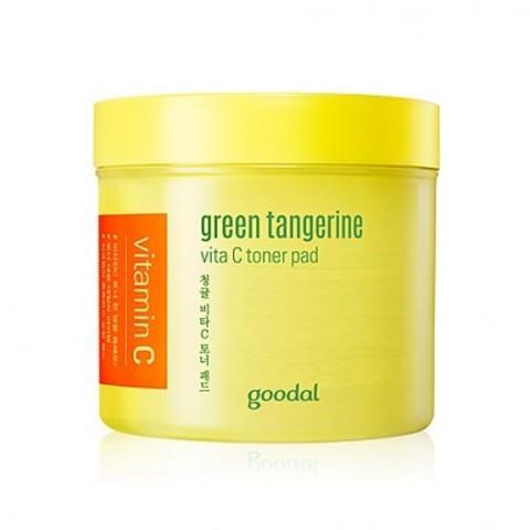 Тонер Goodal Green Tangerine Vita C Toner Pad 70 шт.