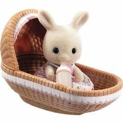 Sylvanian Families Набор «Игрушка младенец в пластиковом сундучке» (3499-1)