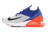 Nike Air Max 270 'Grey/Blue/Orange'