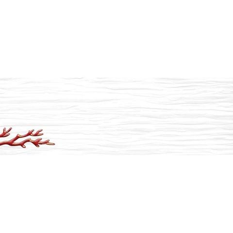 Декор Коралл белый 04-01-1-17-03-00-901-2 600х200х9