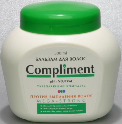 Compliment Бальзам для волос MEGA-STRONG против выпадения волос