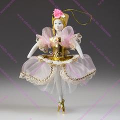 Ёлочная игрушка балерина