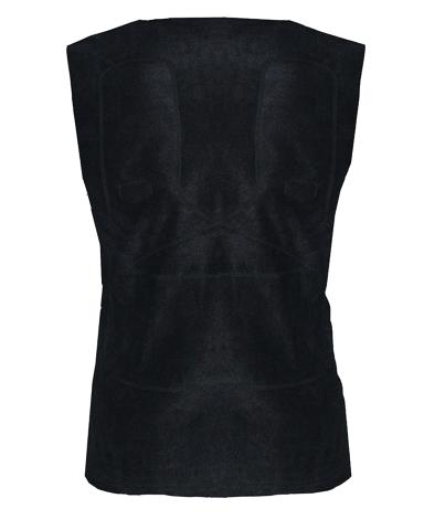 Лёгкий флисовый жилет с инфракрасным обогревом RedLaika RL-03 удобно носить под любой верхней одеждой.