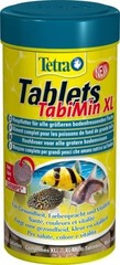 Корм для всех видов донных рыб, TetraTabletsTabiMin XL, в виде крупных двухцветных таблеток