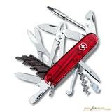 Нож перочинный Victorinox CyberTool 34 1.7725.T 91мм 34 функции полупрозрачный красный
