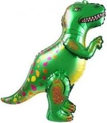 К Ходячая Фигура, Динозавр Аллозавр, Зеленый, в упаковке 25''/64 см,1 шт.