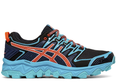 Кроссовки внедорожники Asics Gel-Fujitrabuco 7 Blue женские распродажа