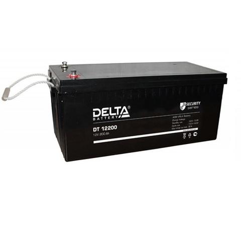 DT 12200 аккумулятор 12В/200Ач Delta