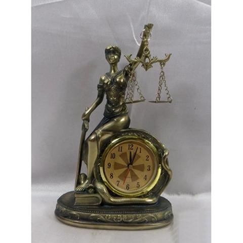 Богиня правосудия с часами HOL20637