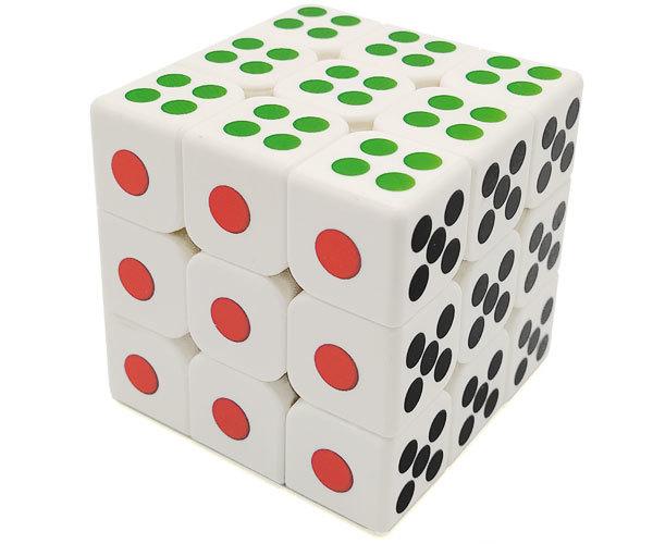 MoYu MoFangJiaoShi 3x3 Dice Cube