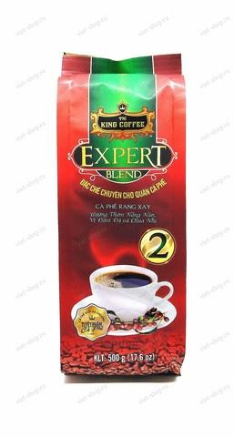 Вьетнамский молотый кофе King Coffee Expert Blend №2, 100-500 гр.