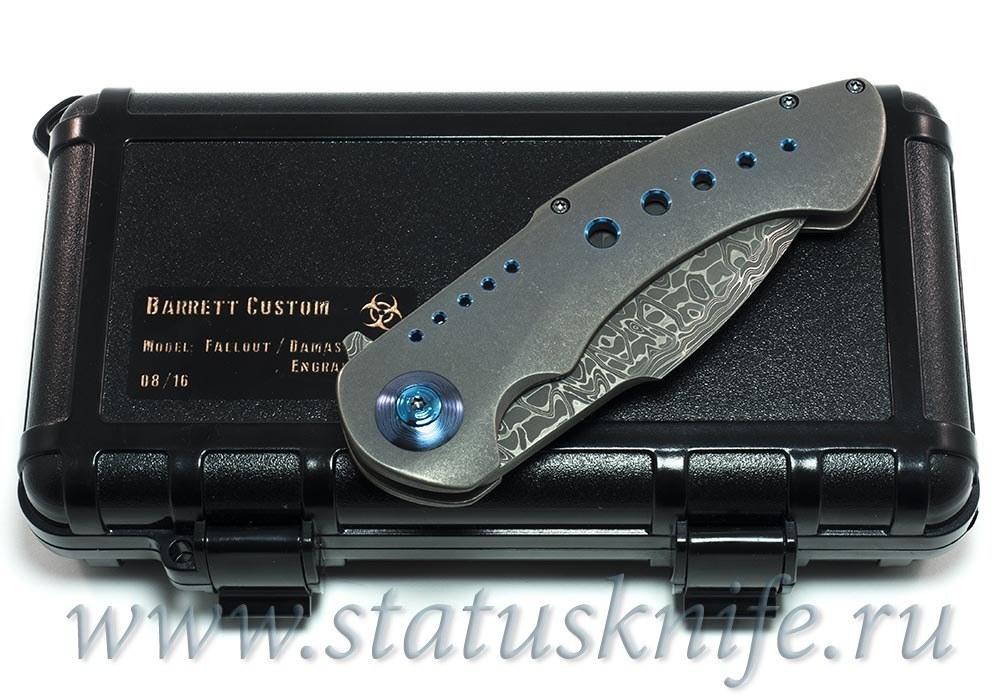 Нож Fallout Flipper One-Off - Rick Barrett - фотография
