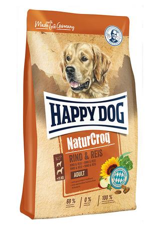 Happy Dog NaturCroq Rind&Reis (говядина с рисом) 15 кг
