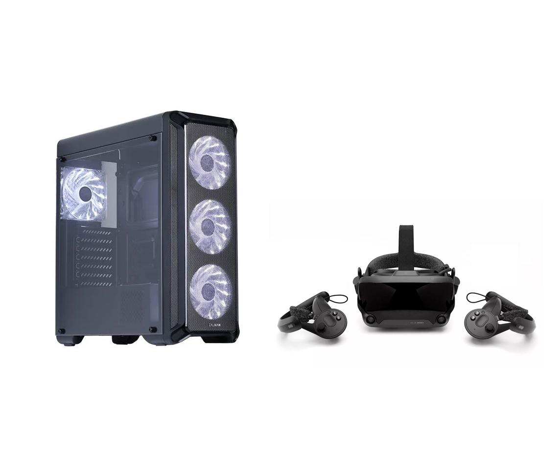 Комплект Игровой ПК + шлем виртуальной реальности VALVE INDEX FULL KIT