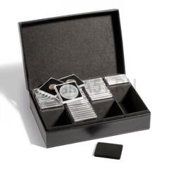 Кассета для монет PRESIDIO, вмещает 100 капсул QUADRUM или 300 монетных рамок (холдеров) 50х50 мм