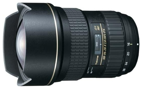 Объектив Tokina AT-X 16-28mm f/2.8 Pro FX для Canon EF