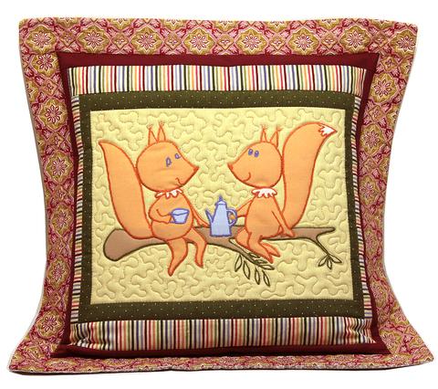 Набор для шитья ЛОСКУТНЫЙ ЧЕХОЛ на подушку