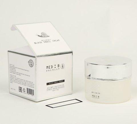 MED B Антивозрастной крем с черной улиткой Black Snail Premium Cream, 50 мл