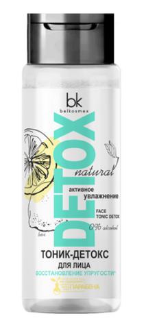 BelKosmex Detox natural Тоник-детокс для лица Восстановление упругости 200г