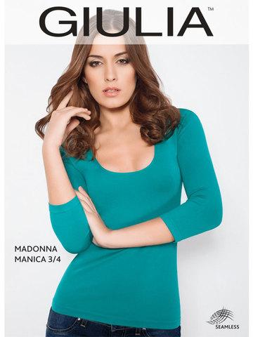 Футболка Maglia Scollo Madonna Manica 3/4 Giulia
