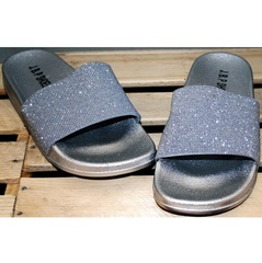 Шлепанцы J.B.P. Shoes Nu1213 Silver