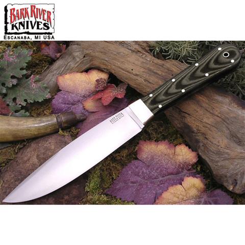 Нож Bark River модель Rogue Midnight Tiger G-10