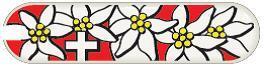 Универсальная накладка для ножа-брелока VICTORINOX 58 мм. (C.6284.4) расцветка Edelweiss -Wenger-Victorinox.Ru