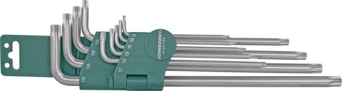 H12S110S Набор ключей торцевых TORX® удлиненных Т9-50, 10 предметов