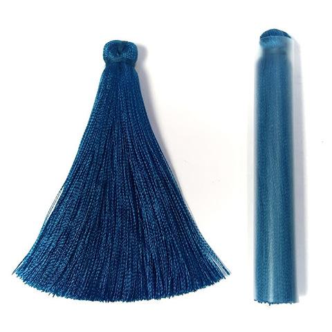 Кисточка 7 см, цвет морская волна #22