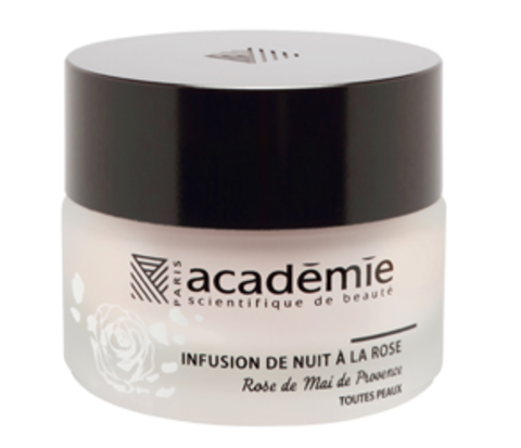 Academie Aromatherapie Infusion De Nuit À La Rose Night Infusion Rose Cream
