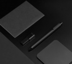 Набор гелевых ручек KACO Pure Gel Ink Pen Black (10 шт)