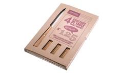 Набор столовых ножей Opinel №125 VRI South Spirit (4 штуки)