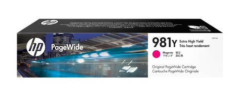 Картридж струйный HP L0R14A (№981Y) пурпурный