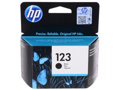 Картридж HP 123 чёрный