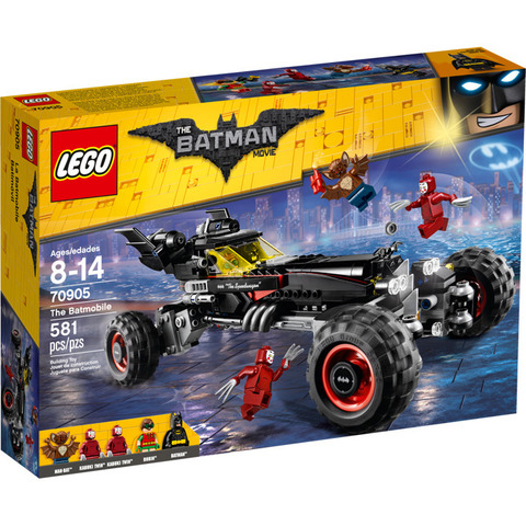 LEGO Batman Movie: Бэтмобиль 70905 — The Batmobile — Лего Бэтмен Муви Кино