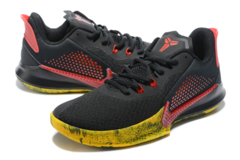 Nike Mamba Fury 'Black/Red/Yellow'
