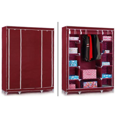 Мобильный тканевый шкаф Storage Wardrobe 88130