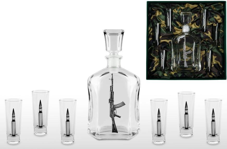 Фото - Набор для водки со штофом «Основной боекомплект» набор для водки дуэль