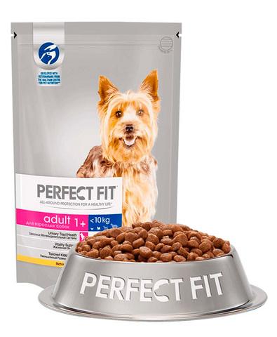 Perfect Fit Adult для взрослых собак мелких и миниатюрных пород собак (с курицей) 500 г