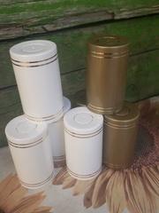 Колпак «Гуала 59», золото, черный, коробка 100 шт